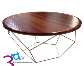 Coffe Table 3D asset realtime