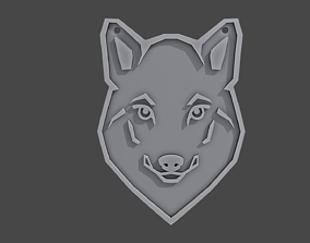 Pendant totem animal WOLF 3D print model