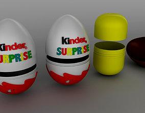 3D Kinder Surprise plastic