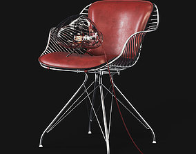The Wire Dining Chair was the first piece in 3D model 2