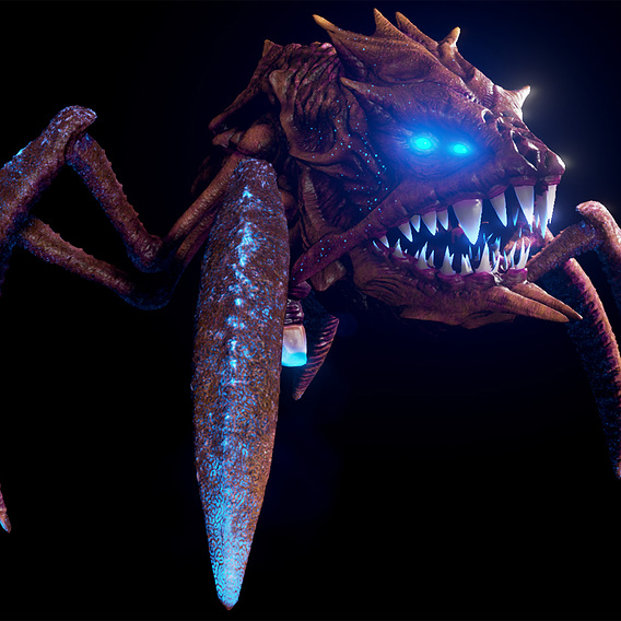 Alien Crab Monster