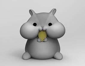 chibi Hamster 3D print model