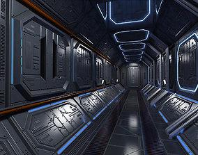 3D model Sci Fi Interior Corridor