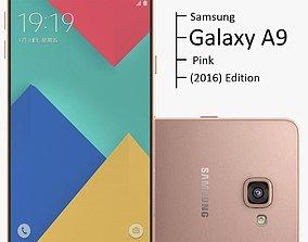 3D Samsung Galaxy A9 2016 Pink