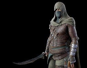 3D model animated realtime Assassin
