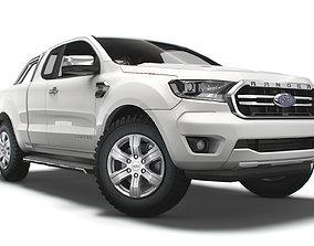 Ford Ranger SuperCab Limited EUspec 2021 3D