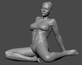 Woman Lady In pose 3DPrint