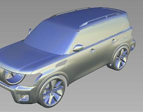 2019 NISSAN ARMADA 3D Scan Data 3D model 3D print model