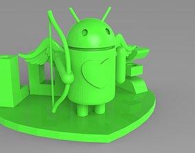 3D print model AndroLove Pencil Holder I