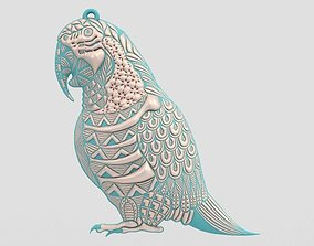 Parrot Necklace 3D printable model