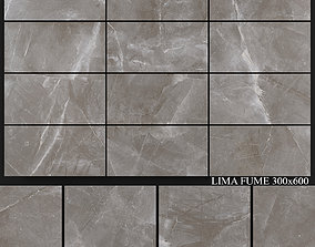 Yurtbay Seramik Lima Fume 300x600 3D