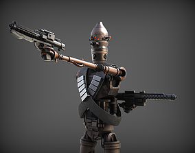 ig-11 inspaired model from mandalorian