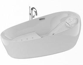 TOTO Flotation Tub with Zero Dimension 3D