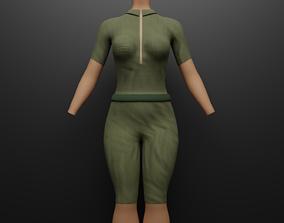 Jumpsuit Onepiece 3D model