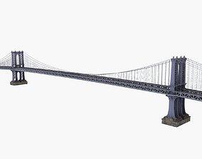 Manhattan Bridge New York 3D