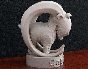 3D printable model Capricorn Zodiac sign