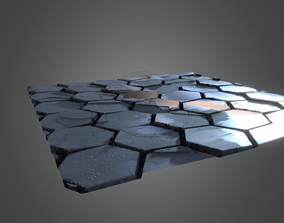 adoquin Road Material 3D model