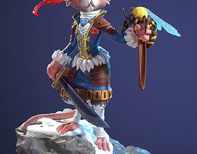 Warrior mouse 3D model