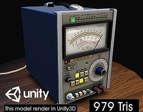 Electronic Instrumentation Voltmeter 3D asset