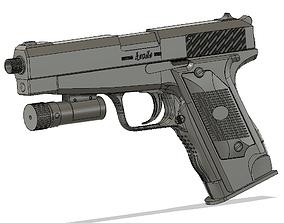 Resident Evil 4 - Silver ghost 3D print model