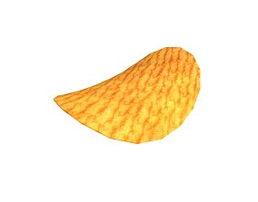 Potato Chips v1 003 3D asset