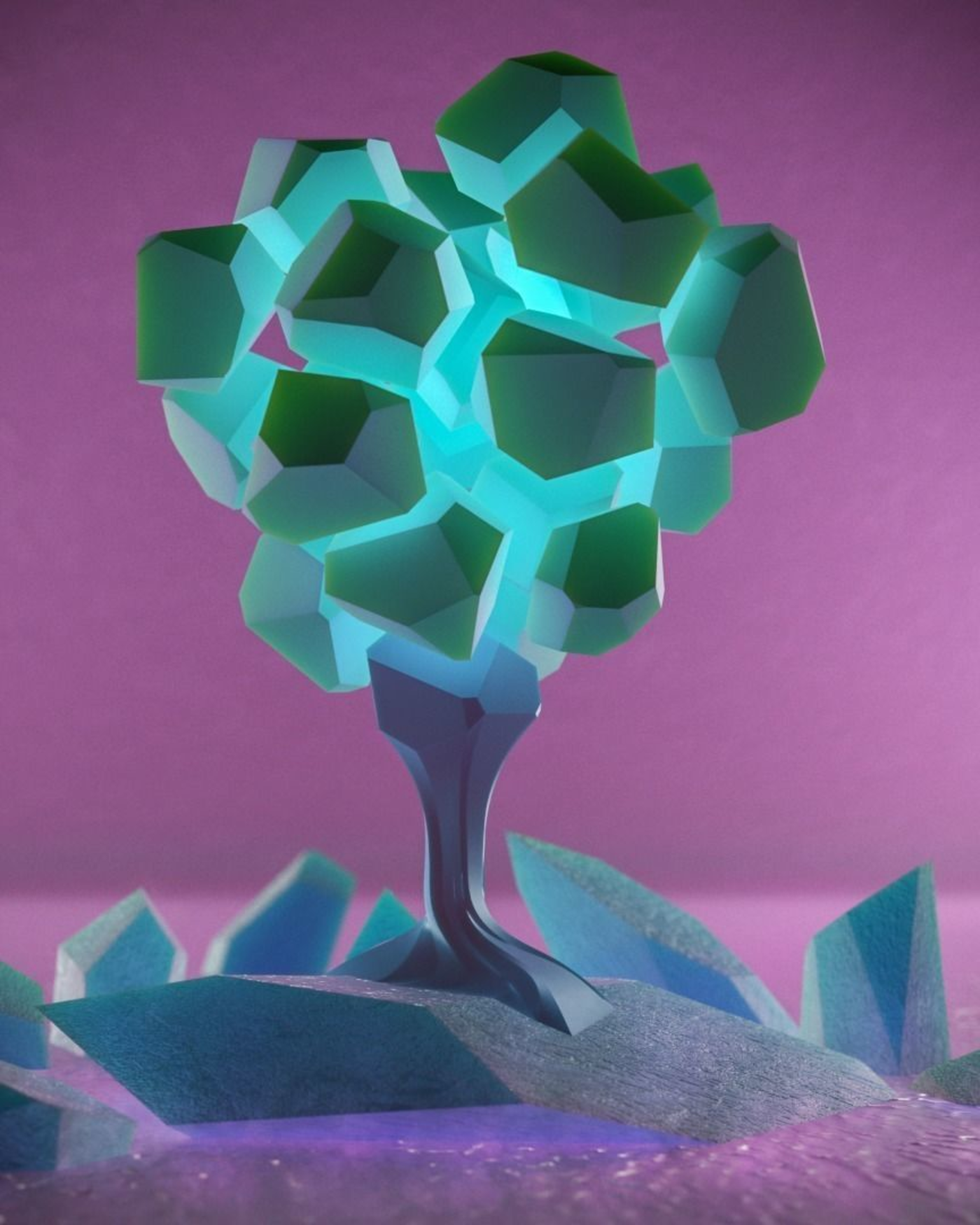 voronoi tree