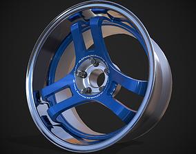 Yokohama Advan Super Racing Ver-2 3D asset