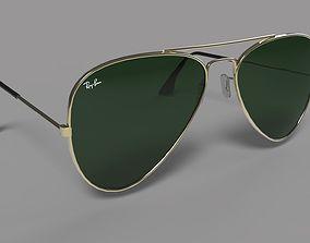 Ray-ban glasses 3D model