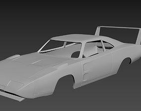 3D printable model Dodge Charger Daytona 1969 Body for