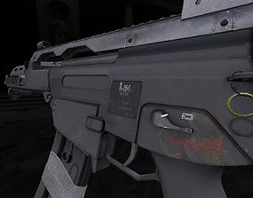 G36C Assault Rifle 3D model