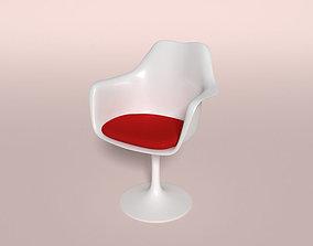 Tulip Chair 3D asset