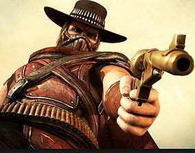 3D print model Erron Black Gun Mortal Kombat X