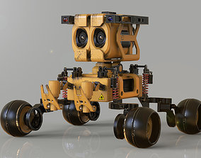 wall-E the Movie concept character 3D model