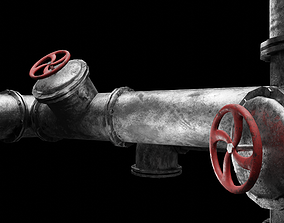 Pipe Assemply Kit 3D asset
