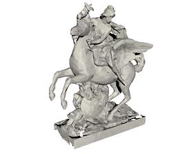 Mercure Statue Model - Sculpture 2020 3D