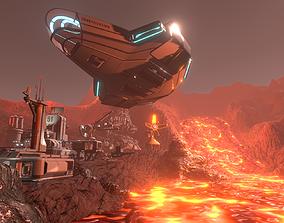 Scifi Kit Vol 3 3D asset game-ready