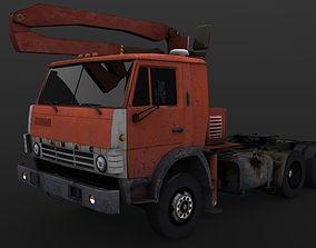 Kamaz 4310 Timber 3D asset