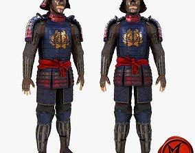 3D model Date Clan Samurai