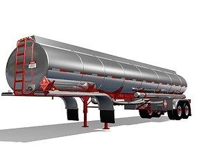 3D model tanker Tanker Trailer