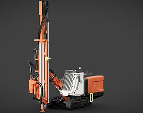 3D model Sandvik Pantera DP1500i CGI version