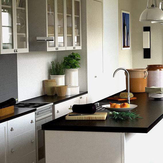 Victorian's style in modern kitchen