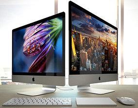 Apple iMac 2015 4k 5k RETINA with Accessories 3D