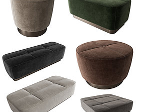 3D model corona Minotti Jacques Sets