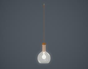 hanging lamp spherical 3D asset