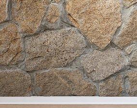 3D asset Stone cladding Stone 038