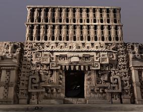 Mayan Temple 3D scan photogrammetry