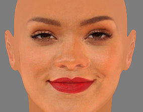 3D asset Rihanna