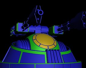 Turbolaser canon CR 90 3D