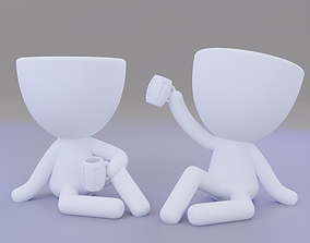 Drinking Buddies Pots 3D print model