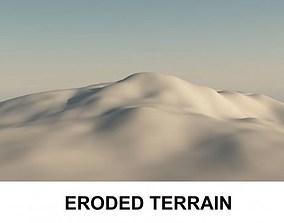 3d Terrain Eroded
